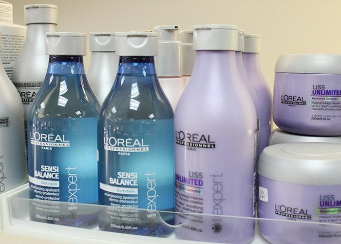 Des prestations de qualité et des produits de marques dans notre salon