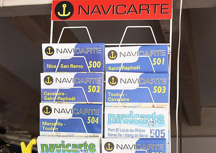 Star Marine a cavalaire, carte de navigation