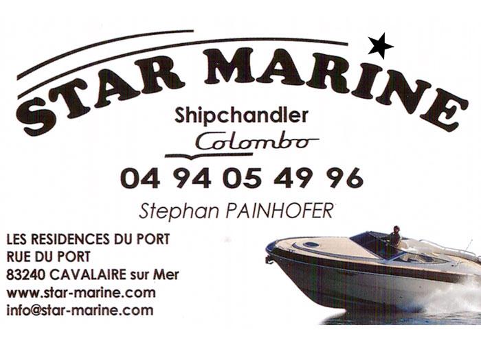 Star Marine Shipchandler à Cavalaire - Importateur Colombo - Stéphane PAINHOFER
