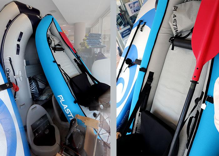 Star Marine à Cavalaire - Une sélection d'équipements de loisirs pour le bateau avec des produits sport et loisirs