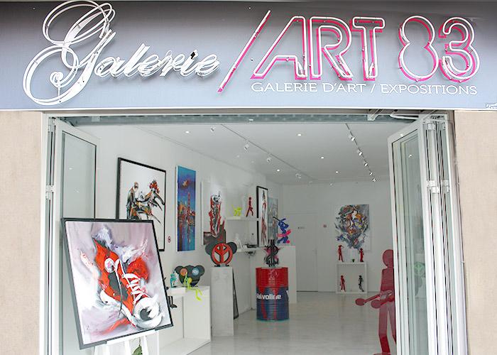 Galerie ART/83, Galerie d'art - Expositions - Sculpture - Peinture