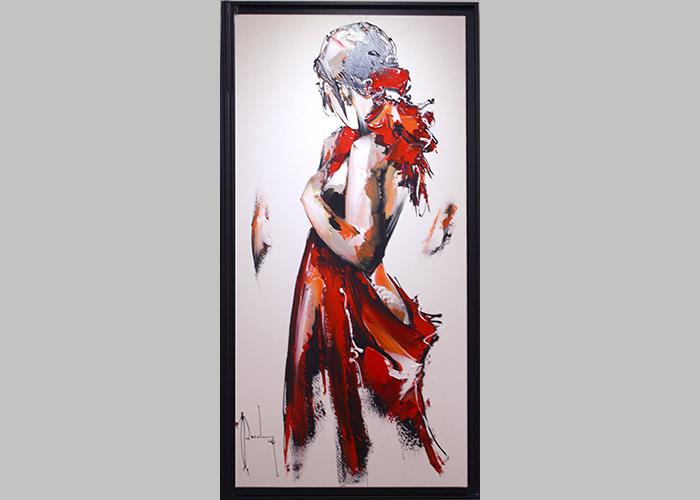 La création de la galerie c'est faite par passion par Michel Poulain