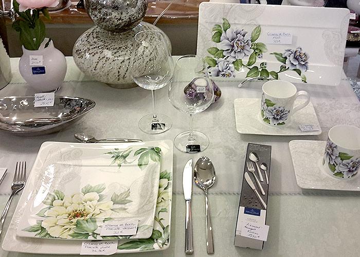 La belle Image Cavalaire, 83 Var. Table dressée, Vaisselle Villeroy & Boch