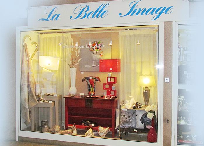 Vitrine, La belle Image Cavalaire, 83 Var