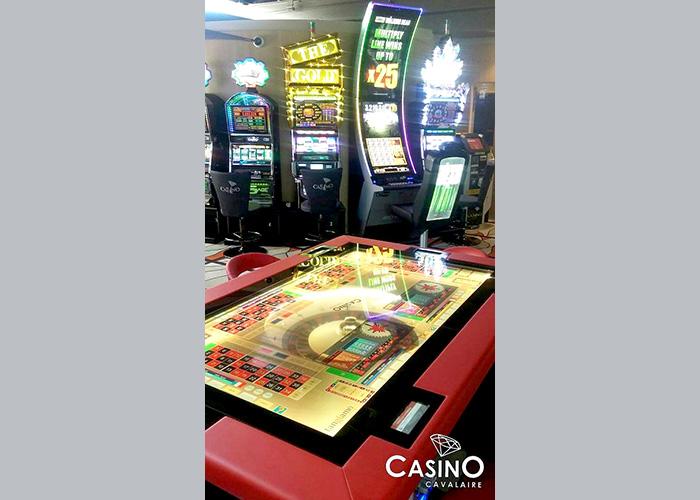 Casino de Cavalaire le plus grand choix du golfe de Saint-Tropez.