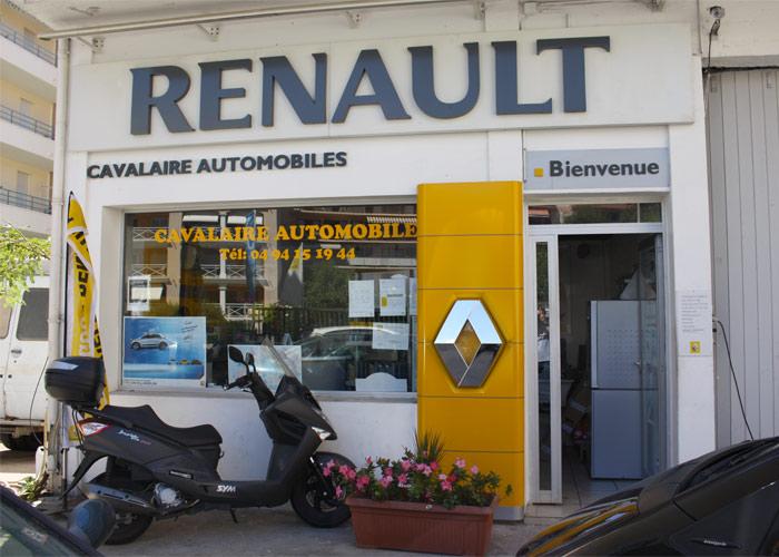 Pour tout entretien et toute réparation, Cavalaire Automobiles, Agent Renault