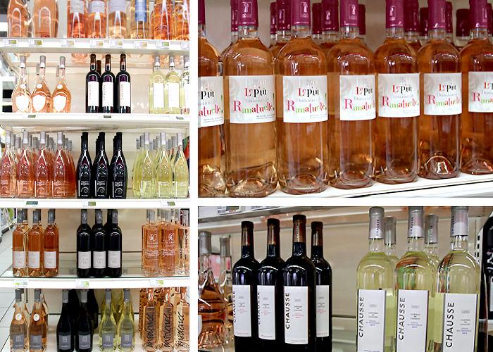 Caviste et nombreux vins. Du rosé pour vos grillades, Casino Shop Cavalaire