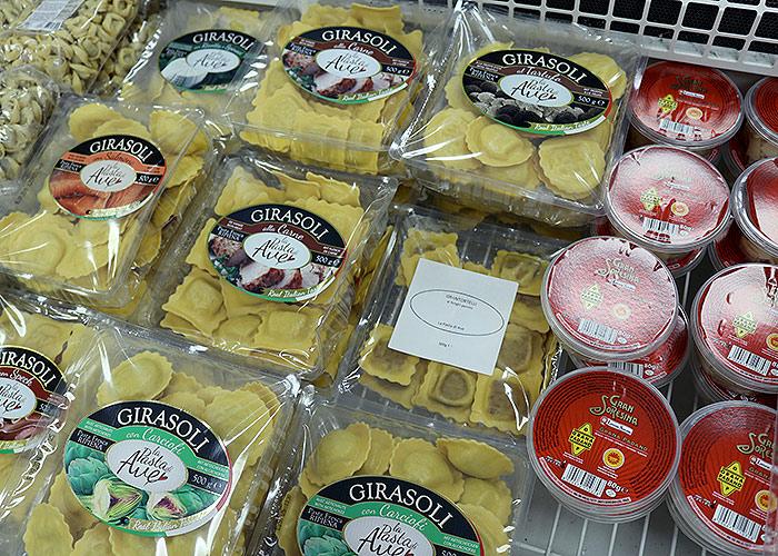 SPAR Cavalaire, c'est aussi des différentes spécialités italiennes