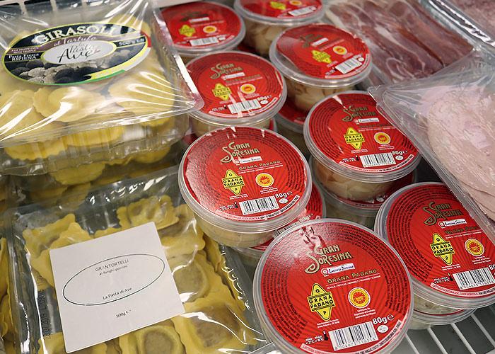 Nos divers produits Italiens et ses spécialités