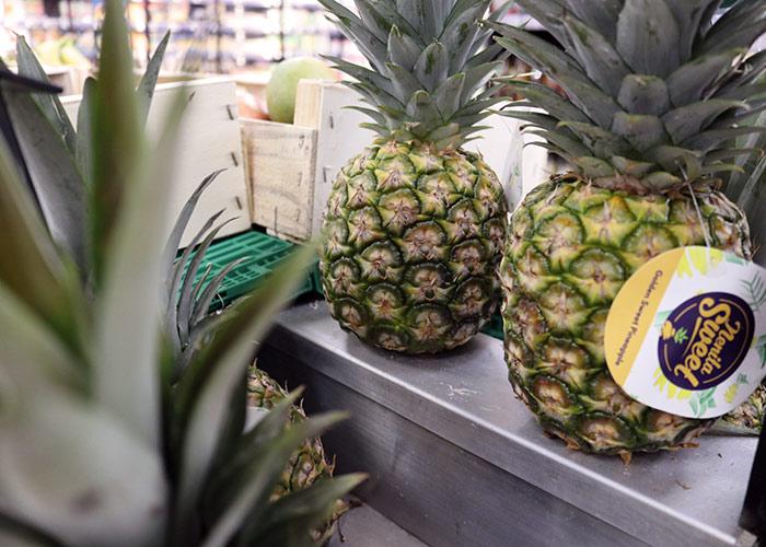 Un large choix de fruits et légumes dans notre magasin