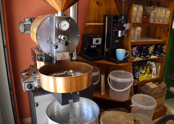La torréfaction café sur place