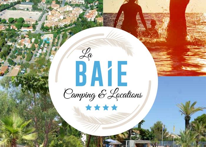 Camping de la Baie, Au coeur de la ville dans un cadre de verdure - Tél : 04 94 64 08 15